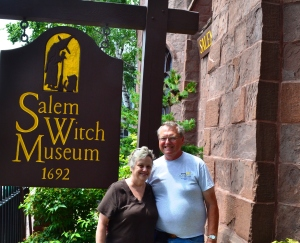 Ralph and I at The Old Salem Witch Museum